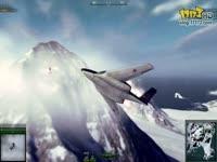 《战机世界》国服内测试玩(北极雪山地图)