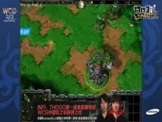 三星WCG2013中国区总决赛 War3 8进4 Zhou_xixi vs cmb_china(2)
