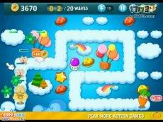 保卫萝卜电脑版天际9 小游戏视频攻略