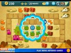 保卫萝卜沙漠模式第7关 小游戏视频攻略