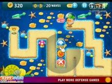 保卫萝卜沙漠模式第16关 小游戏视频攻略