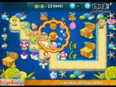 保卫萝卜沙漠模式第24关 小游戏视频攻略