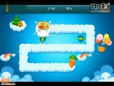 保卫萝卜正式版第2关 小游戏视频攻略