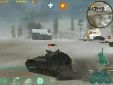 铁甲战神 雪原场景