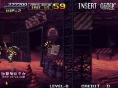 《合金弹头X代》8难一命速通20分58秒 最速通关