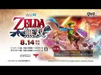 "Wii U《塞尔达无双》塞尔达公主""智慧""特典演示视"