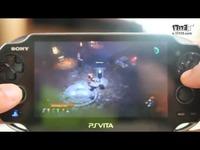 暗黑3终极邪恶版PSV遥控试玩屏拍