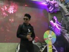 《刀龙传说》主题曲现场视频