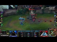 Team Dragon Knights vs Cloud 9 - S5 NA LCS S