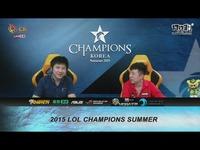2015OGN夏季赛冒泡赛 CJ vs JIN AIR 1