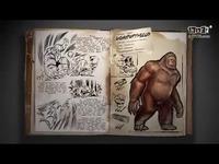 丢人和采集纤维《方舟:生存进化》巨猿宣传片