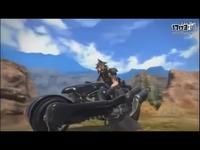 《最终幻想14》克劳德摩托模型展示