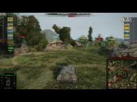 免费观看 坦克世界9.13游戏视频 德国德系7级 D系E25 地图 湖边的角逐 自行反坦克炮 游走伏