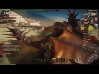 视频片段 p9king怪物猎人ol首次单刷断刃一角龙!-怪物猎人OL