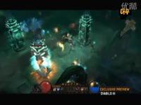 热门片段 [暗黑破坏神3]三分钟全新游戏影像——三人大战骷髅王-暗黑破坏神3