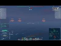 【战舰世界】实力接雷与公屏嘲讽 五级金币船神风R
