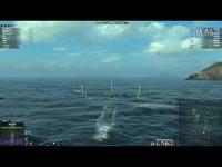 最新 海战世界-美系-九级潜艇-淡水鲤-两场合集-Lion老虎解说-海战世界