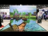 热推内容 《剑网3》线下事件席卷北方 跨次元3D画展视频首曝-剑网3