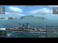 海战世界-日系-大和-两场合集-第二场走错了路-Lion老虎解说-海战世界 精彩内容