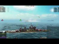 最热 海战世界-远东铁甲舰-乔五-两场八V八-Lion老虎解说-iKu