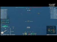 WOWS 战舰世界 亚服 海妖大猴惊险翻盘 21w输出