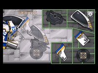 组装机械变形警车  恐龙世界 恐龙游戏 恐龙拼图游戏 热播