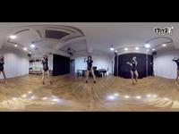 性感黑衣韩舞360度全景视频