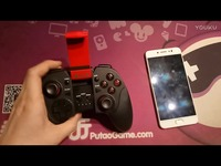 赛太克STK-7004X蓝牙手柄如何连接安卓手机 玩王者荣耀龙之谷街篮球球大作战崩坏3 焦点视频