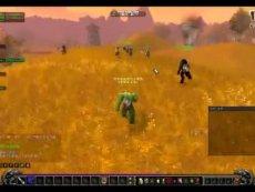 魔兽世界 国服玩家组织1级小号艾泽拉斯裸跑大赛