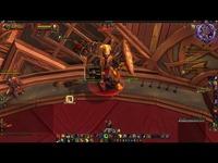 魔兽世界战士职业大厅团本木桩50层防战视频 视频短片