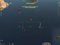 海战世界-H41-舰队战-两场-平局-Lion老虎解说 精彩看点