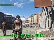 【中文字幕】辐射4各同伴看到主角食尸的反应 免费视频