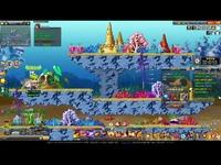 QQ游戏版冒险岛《冒险战记》追随摩羯座海底金牌任务经典首解说 直击