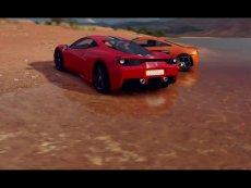 极限竞速:地平线3法拉利458 VS迈凯轮650 经典视频