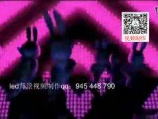 兔气扬眉 动感版舞蹈少儿舞蹈led背景视频屏幕