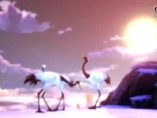 《天下3》时装鹤羽惊风、海棠未雨