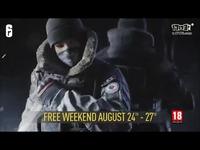 《彩虹六号:围攻》免费周末活动即将开启
