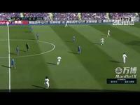 1718赛季西甲联赛第8轮集锦赫塔菲VS皇家马德里
