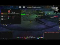 魔兽世界7.3.5燃烧王座dkt鲜血死亡骑士演示视频