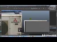 3.3D空调模型制作丨MAYA教学丨王氏教育集团