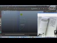 6.3D空调模型制作丨MAYA教学丨王氏教育集团