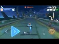 【QQ飞车手游】这张图这个跑法比小橘子教的还快