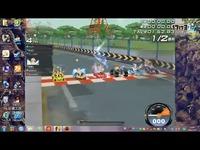 QQ飞车当一个一年没登端游的玩家重新玩一局第一
