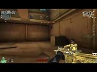 穿越火线:这黄色的枪是什么?刀僵尸这么好用