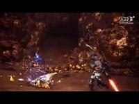 """《怪物猎人世界》PC版""""渣渣辉""""绚辉龙登场宣传"""