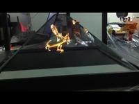 360全息展示柜,蚁利科技360四面幻影成像展示柜