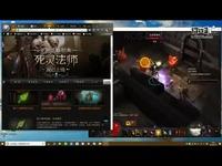 上海暗黑三死灵法师骨矛尸枪刷图流玩到179层了
